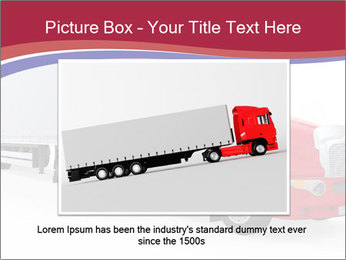 Red And White Truck PowerPoint Template - Slide 16