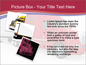 Red And White Truck PowerPoint Template - Slide 17