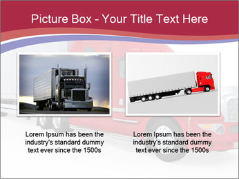 Red And White Truck PowerPoint Template - Slide 18