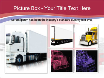 Red And White Truck PowerPoint Template - Slide 19