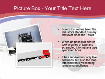Red And White Truck PowerPoint Template - Slide 20