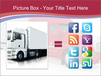 Red And White Truck PowerPoint Template - Slide 21