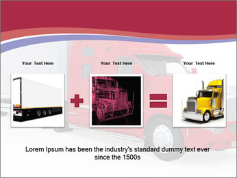 Red And White Truck PowerPoint Template - Slide 22