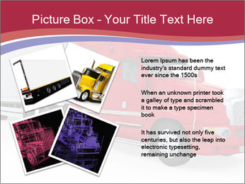 Red And White Truck PowerPoint Template - Slide 23