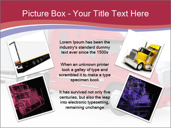 Red And White Truck PowerPoint Template - Slide 24