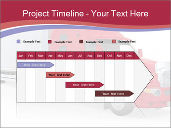 Red And White Truck PowerPoint Template - Slide 25