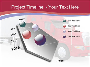 Red And White Truck PowerPoint Template - Slide 26