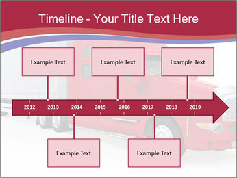 Red And White Truck PowerPoint Template - Slide 28