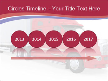 Red And White Truck PowerPoint Template - Slide 29