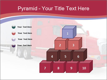 Red And White Truck PowerPoint Template - Slide 31