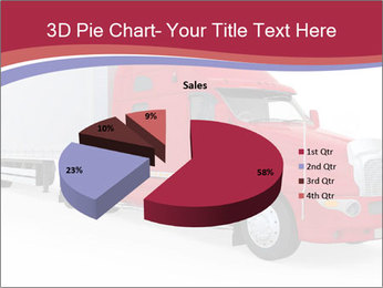 Red And White Truck PowerPoint Template - Slide 35