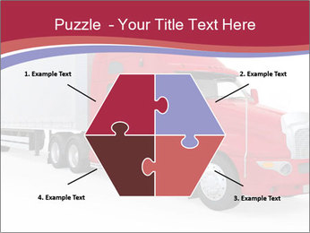 Red And White Truck PowerPoint Template - Slide 40