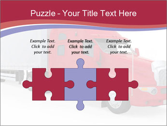 Red And White Truck PowerPoint Template - Slide 42