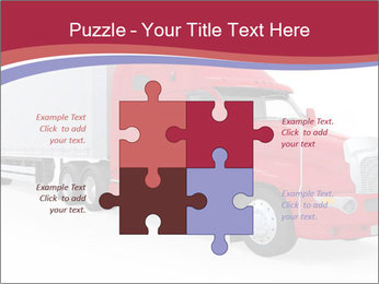 Red And White Truck PowerPoint Template - Slide 43