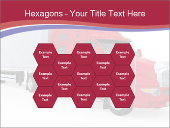 Red And White Truck PowerPoint Template - Slide 44