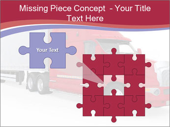 Red And White Truck PowerPoint Template - Slide 45