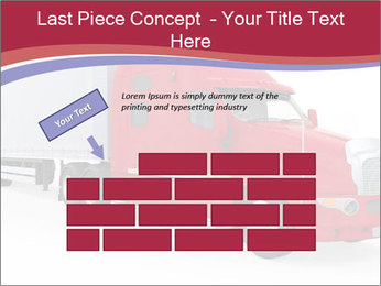 Red And White Truck PowerPoint Template - Slide 46