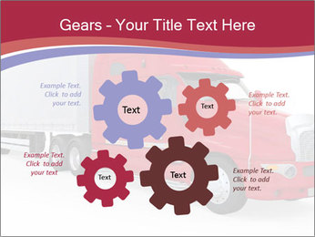 Red And White Truck PowerPoint Template - Slide 47