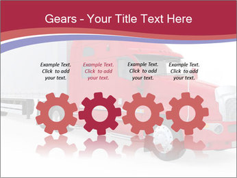 Red And White Truck PowerPoint Template - Slide 48