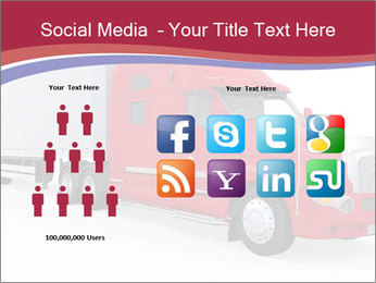 Red And White Truck PowerPoint Template - Slide 5