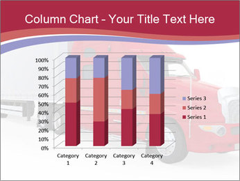 Red And White Truck PowerPoint Template - Slide 50