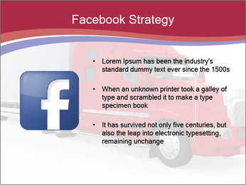 Red And White Truck PowerPoint Template - Slide 6
