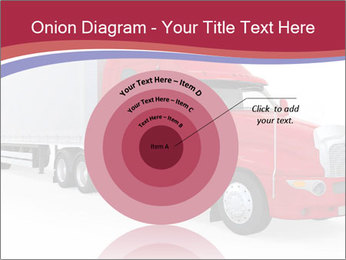 Red And White Truck PowerPoint Template - Slide 61