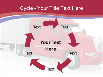 Red And White Truck PowerPoint Template - Slide 62