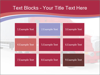 Red And White Truck PowerPoint Template - Slide 68