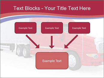 Red And White Truck PowerPoint Template - Slide 70