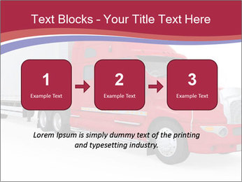 Red And White Truck PowerPoint Template - Slide 71