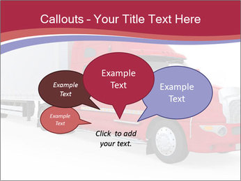 Red And White Truck PowerPoint Template - Slide 73