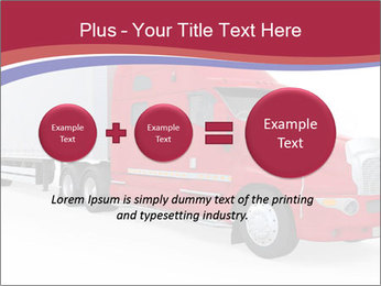 Red And White Truck PowerPoint Template - Slide 75