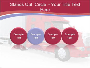 Red And White Truck PowerPoint Template - Slide 76