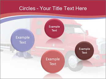 Red And White Truck PowerPoint Template - Slide 77