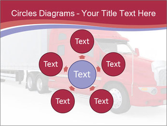 Red And White Truck PowerPoint Template - Slide 78