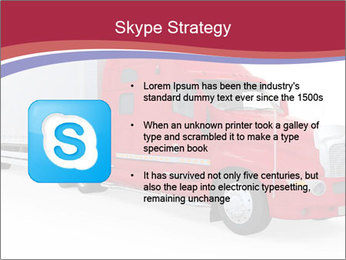 Red And White Truck PowerPoint Template - Slide 8