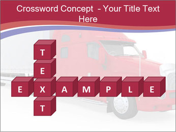 Red And White Truck PowerPoint Template - Slide 82