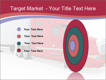 Red And White Truck PowerPoint Template - Slide 84