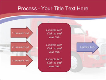 Red And White Truck PowerPoint Template - Slide 85
