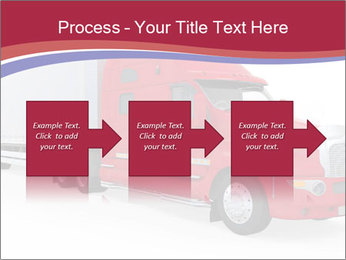 Red And White Truck PowerPoint Template - Slide 88