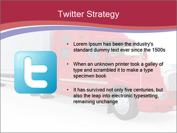 Red And White Truck PowerPoint Template - Slide 9