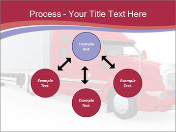 Red And White Truck PowerPoint Template - Slide 91