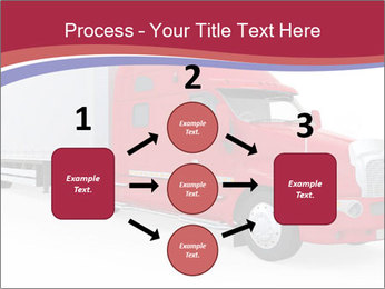 Red And White Truck PowerPoint Template - Slide 92