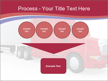 Red And White Truck PowerPoint Template - Slide 93