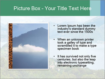 Alpine Lake Como summer view PowerPoint Template - Slide 13