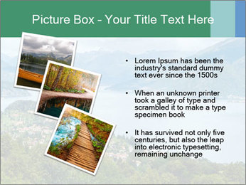 Alpine Lake Como summer view PowerPoint Template - Slide 17