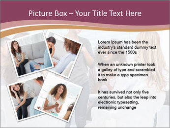 Happy patient has a breakthrough PowerPoint Template - Slide 23