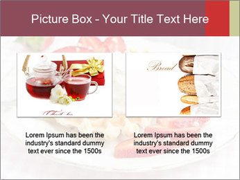 Belgian waffles with fresh strawberries PowerPoint Template - Slide 18