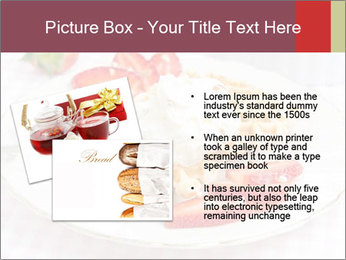 Belgian waffles with fresh strawberries PowerPoint Template - Slide 20